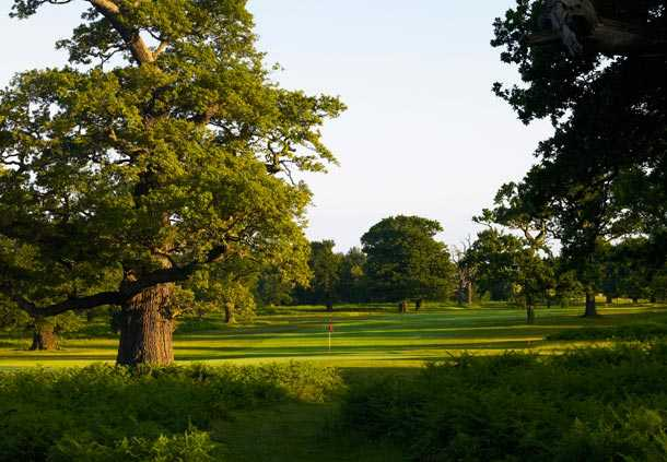 A view of hole #5 at Aylesford Course from Forest of Arden Country Club