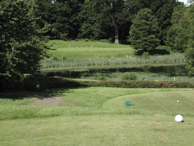 A view from a tee at Overstone Park Golf Club