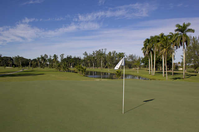 View from the 3rd hole at The Senator Course at Shula's Golf Club