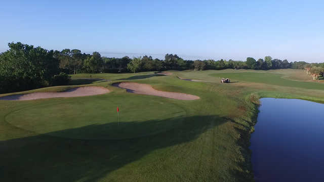 View of a green at Kissimmee Bay Country Club