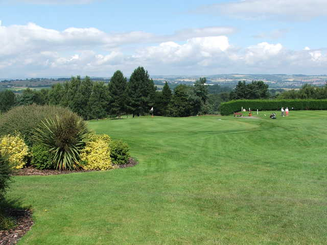 A view of a green at Bishop Auckland Golf Club