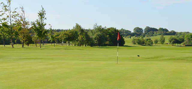 A view of hole #13 at Dunstable Downs Golf Club