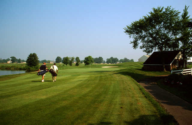 View of a green at Turtle Creek Golf Club