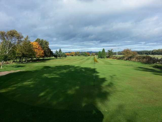 Lovely view from behind the 3rd green looking down the fairway