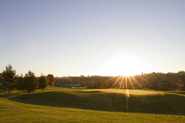View of the 16th hole from the St. Marys Golf and Country Club