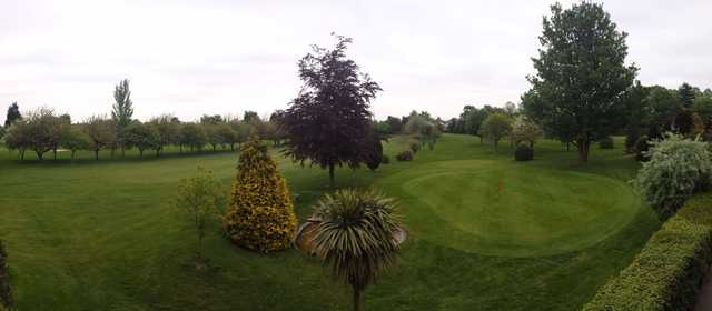 A view of a green at Gillingham Golf Club