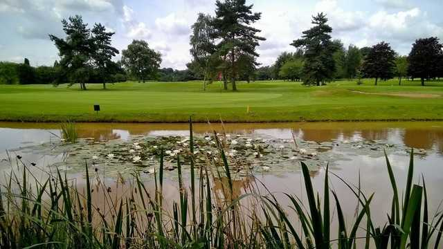 A view of the 14th hole at Great Barr Golf Club