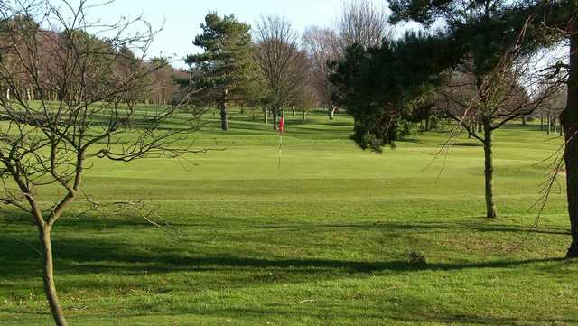A view of a hole at Ponteland Golf Club