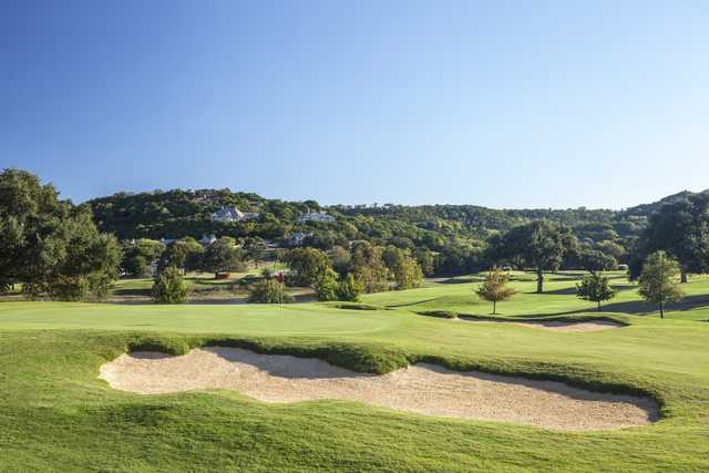 Bunker and green at Tapatio Springs Hill Country Resort