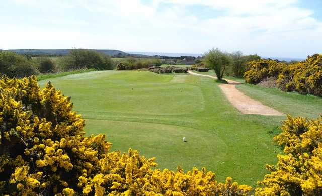A view of tee #17 at Seaford Golf Club