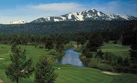 A view from Lake Tahoe Golf Course