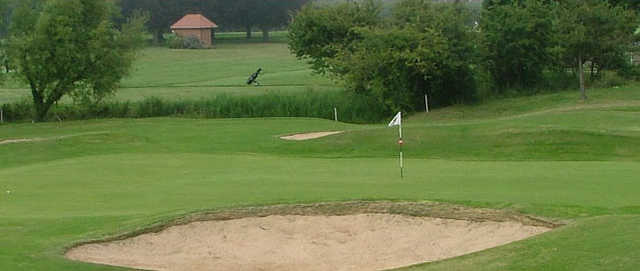 A view of a hole at St Augustines Golf Club