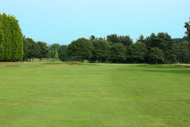 A view of a green at Trentham Park Golf Club