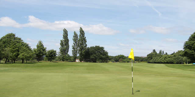 A view of hole #1 at Verulam Golf Club