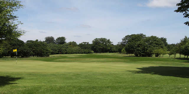 A view of the 8th green at Verulam Golf Club