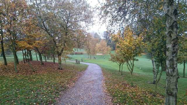 A late fall view from West Essex Golf Club
