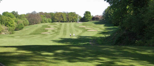 A view of a fairway at Murrayfield Golf Club
