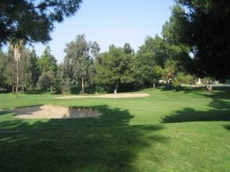 A view of green at Upland Hills Country Club