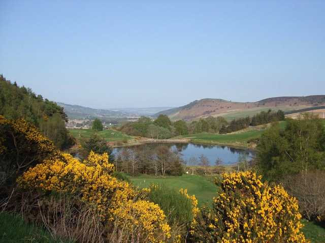 View from Strathpeffer Spa Golf Club