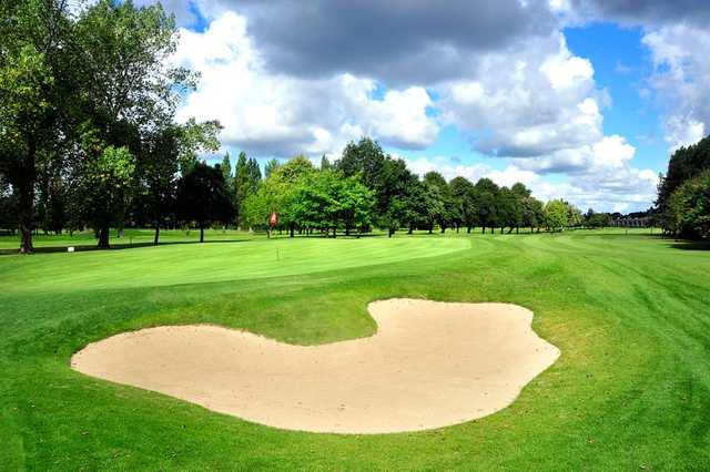 A view of the 17th green at Milltown Golf Club