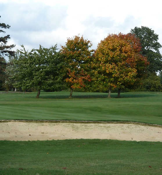Fall view from Hadden Hill Golf Club