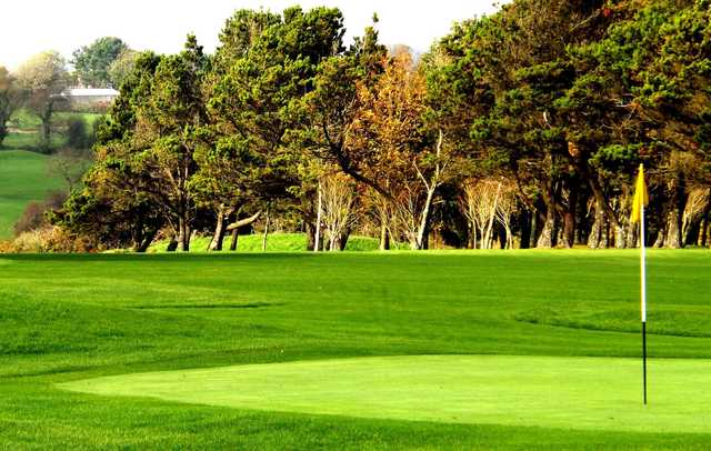 A view of a hole at Youghal Golf Club
