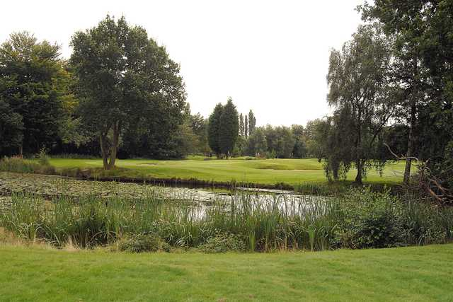 View of the 2nd hole at Davyhulme Park Golf Club