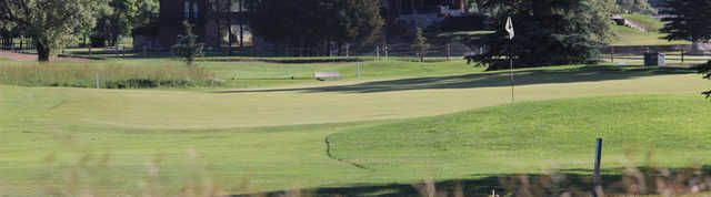 View of a green at Riverton Country Club