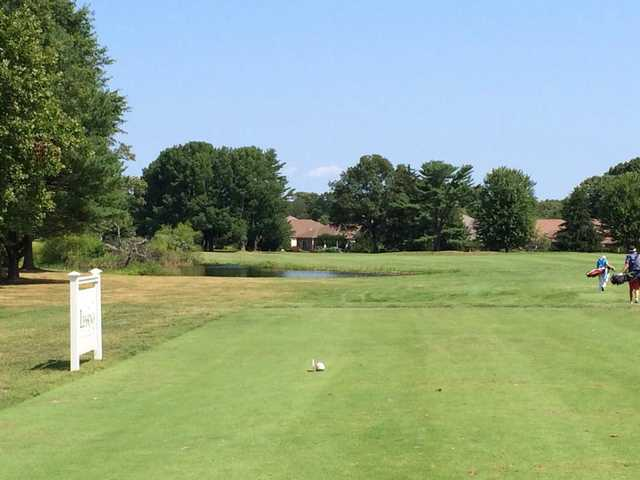 A view from a tee at Stonebridge Golf Links & Country Club