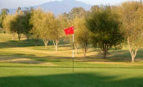 A view of a green at Saticoy Regional Golf Course.
