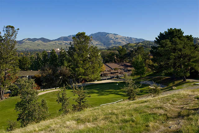 A view of the 3rd green at Diablo Hills Golf Course