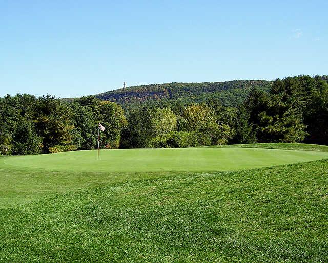 A view of a hole at Blue Fox Run Golf Club