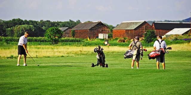A view from Blue Fox Run Golf Club
