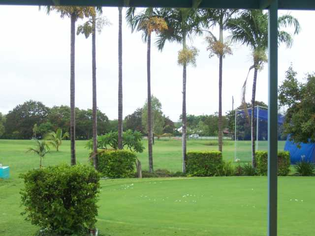 A view from Lavarack Golf Club