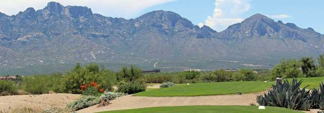 View from the tees at The Views Golf Club at Oro Valley