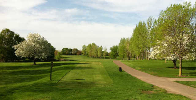 View from the 13th tee at Sundance Golf Club