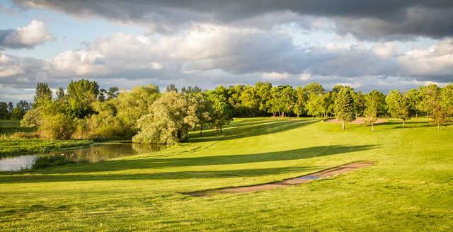 View of the 15th fairway at Sundance Golf Club