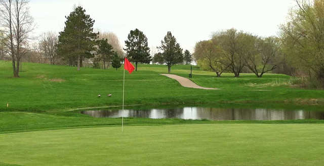 View of the 17th hole at Sundance Golf Club