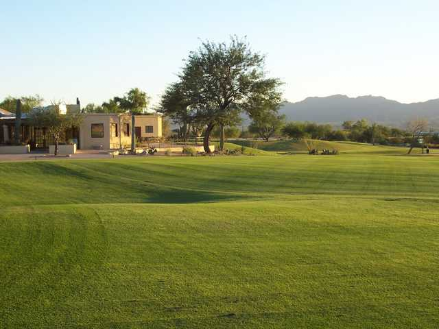 Crooked Tree GC: the clubhouse