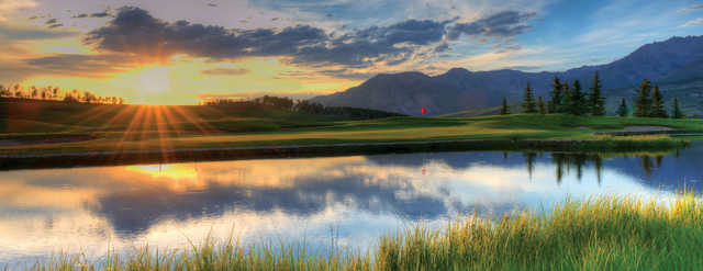 View of a green at Telluride Golf Club