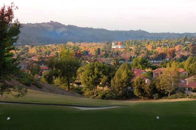 View from the 6th tee box at San Juan Hills Golf Club