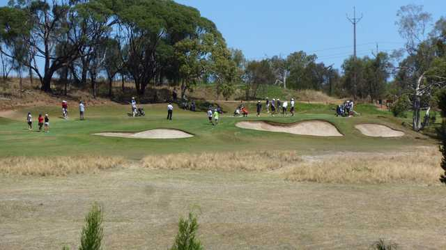 A sunny day view from Tanunda Pines Golf Club