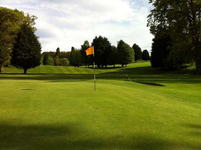 View from a green at The Hirsel Golf Club