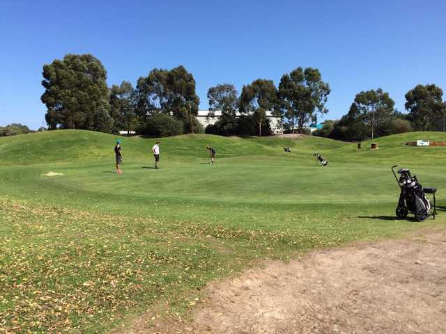 A sunny day view from Altone Park Golf Course