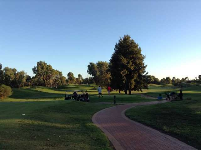 A view from Altone Park Golf Course