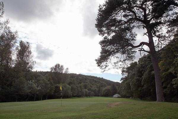 A view of green #6 at Brodick Golf Club