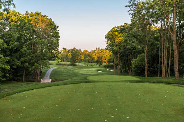 A view from tee  #14 at Championship Golf Course from Chatham Hills