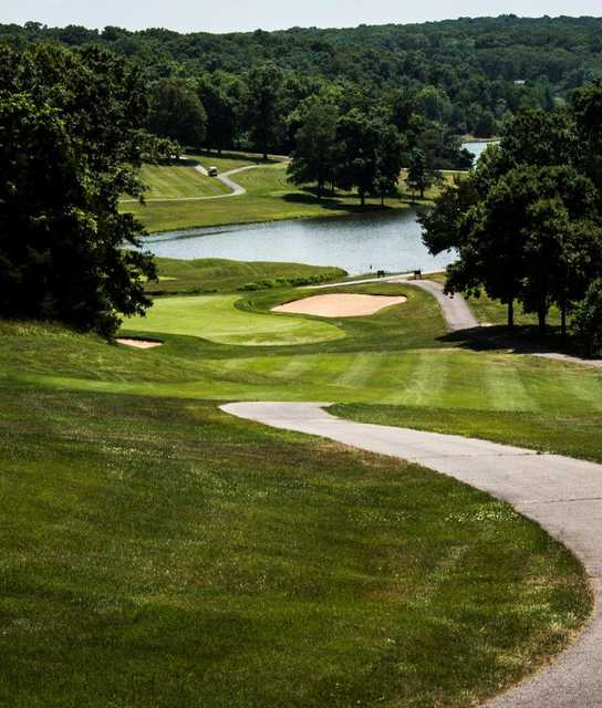 View from #16 at Innsbrook Resort Golf Course & Clubhouse