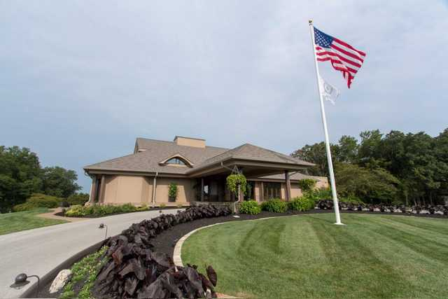 The clubhouse at Innsbrook Resort Golf Course