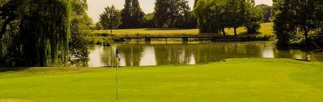 View from Ballards Gore Golf Club